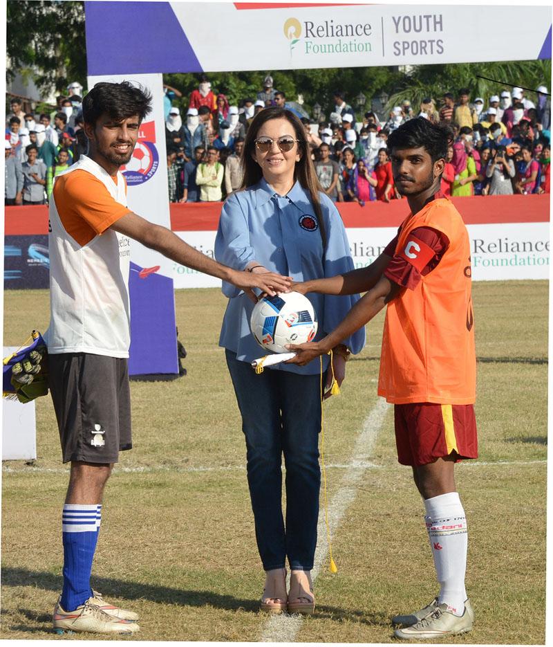 Reliance Foundation Youth Sports Football Championship – SAL
